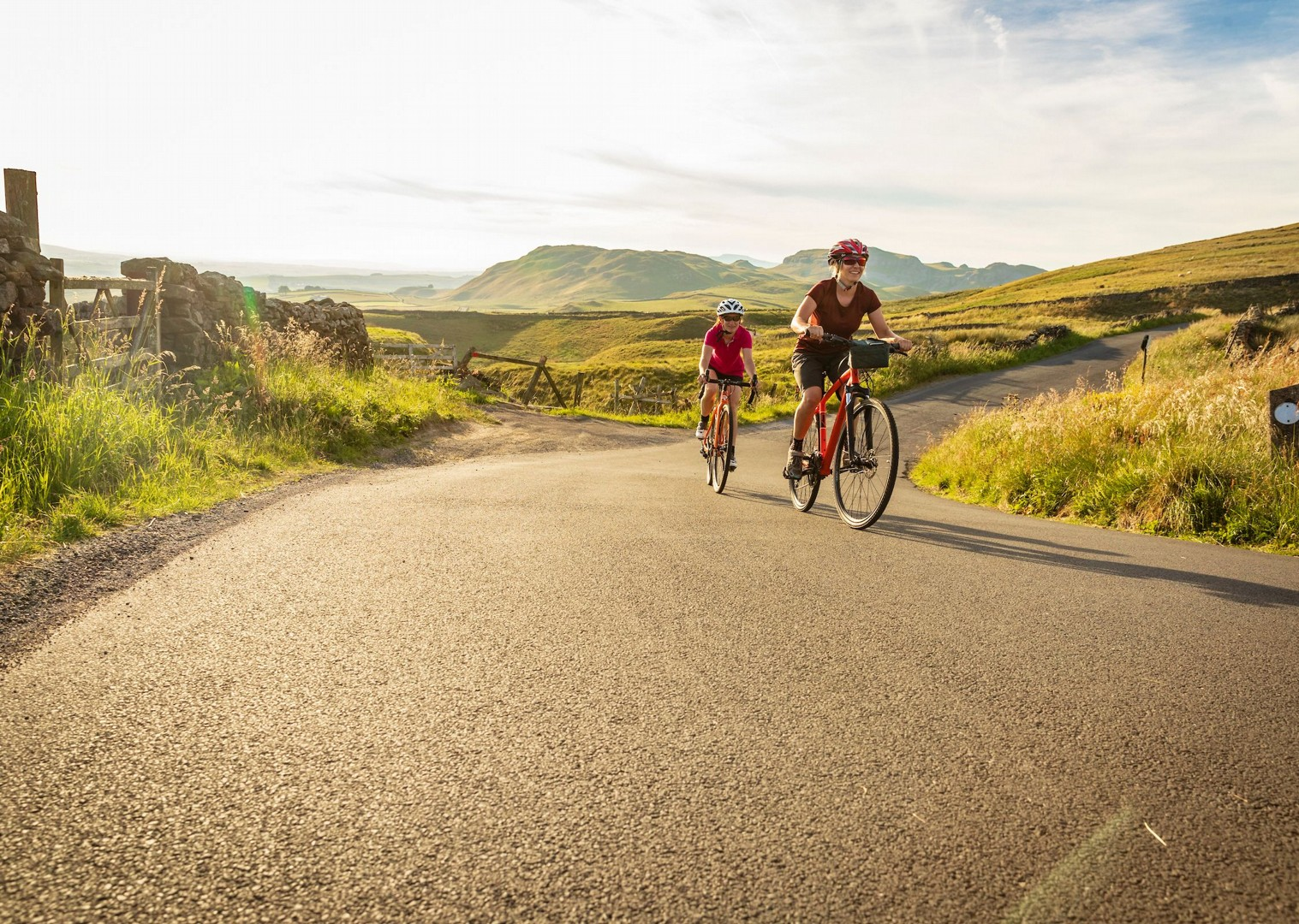 uk-yorkshire-leisure-self-guided-moors-cycling.jpg - UK - Way of the Roses 5 Days Cycling - Self-Guided Leisure Cycling Holiday - Leisure Cycling