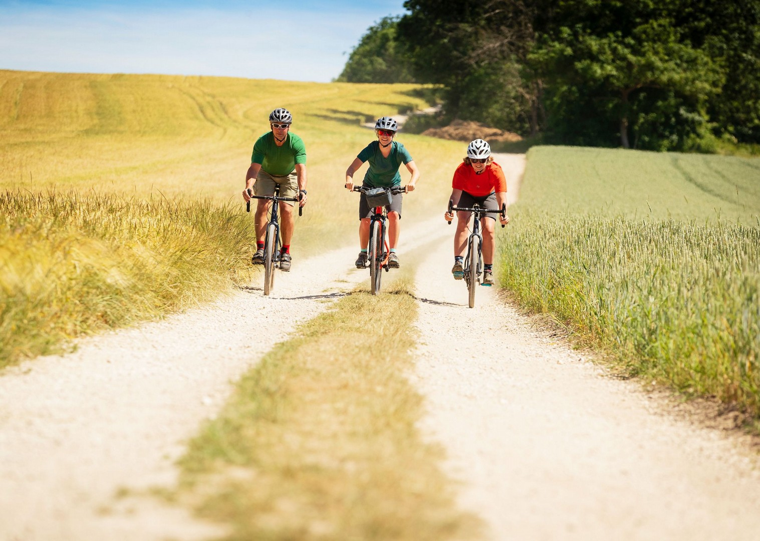cycling-only-tracks-uk-yorkshire-countryside.jpg - UK - Yorkshire Wolds - 5 Days Cycling - Self-Guided Leisure Cycling Holiday - Leisure Cycling
