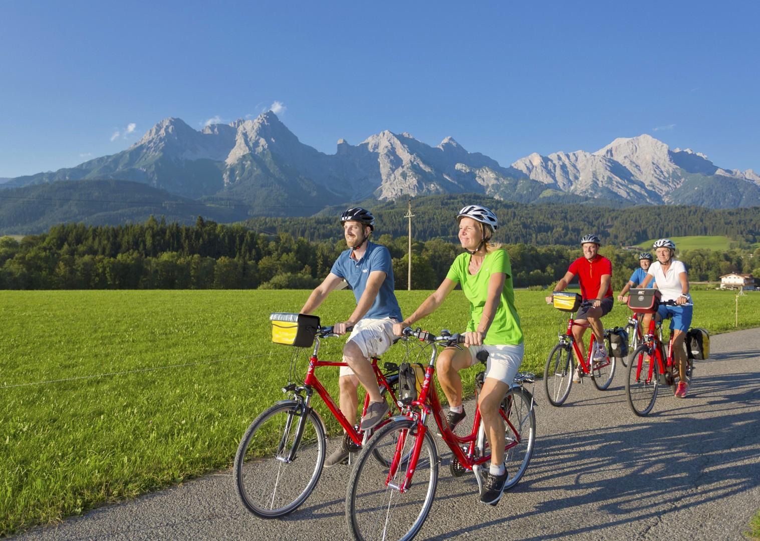 austria-panoramic-mountain-views-leisure-bike-holiday.jpg - Austria - Tauern Valleys - Self-Guided Leisure Cycling Holiday - Leisure Cycling