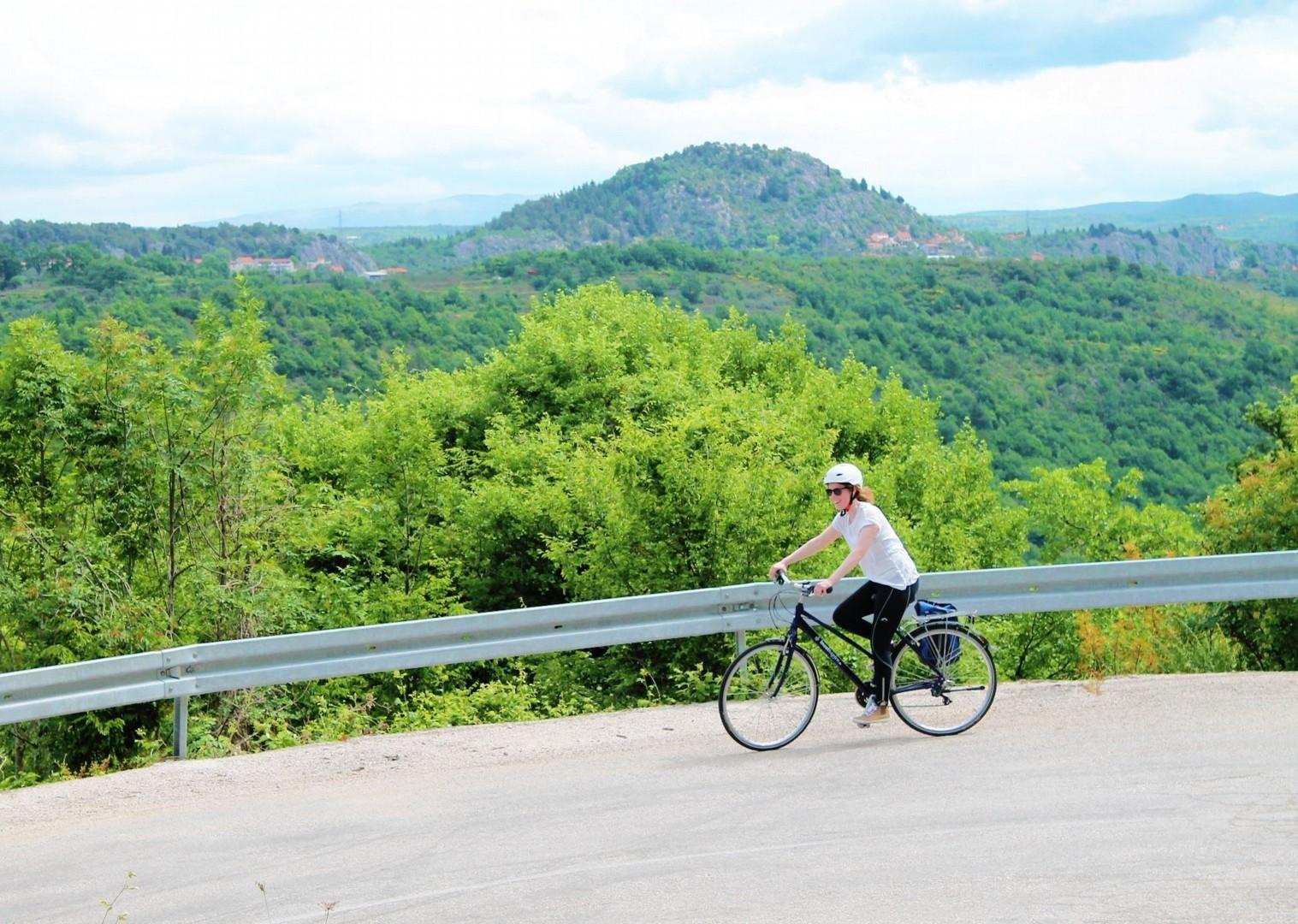 road-to-the-sky-dugi-otok-croatian-holiday-on-bike.jpg - Croatia - Kvarner Bay - Bike and Boat Holiday - Leisure Cycling