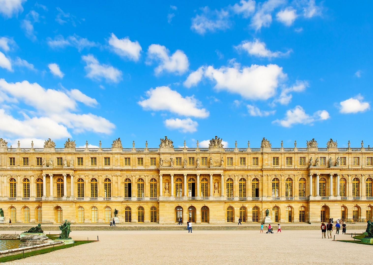 palace-of-versailles-france-cycling-tour.jpg - France - Versailles to Mont Saint Michel - Self-Guided Leisure Cycling Holiday - Leisure Cycling