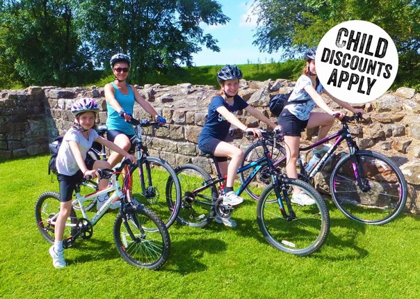 UK - Hadrian's Cycleway - 6 Days Cycling - Self-Guided Family Cycling Holiday Image