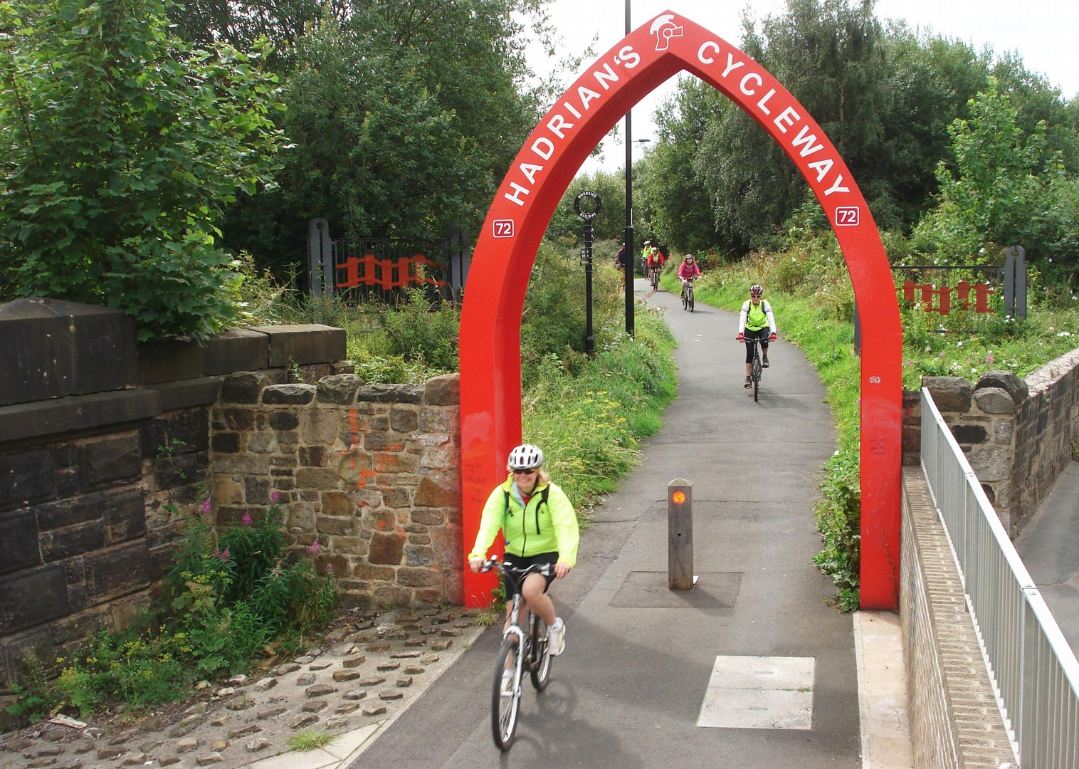 hadrians-cycleway-uk-supported-cycling-trip.jpg - UK - Hadrian's Cycleway 4 Day - Supported Family Cycling Holiday - Family Cycling