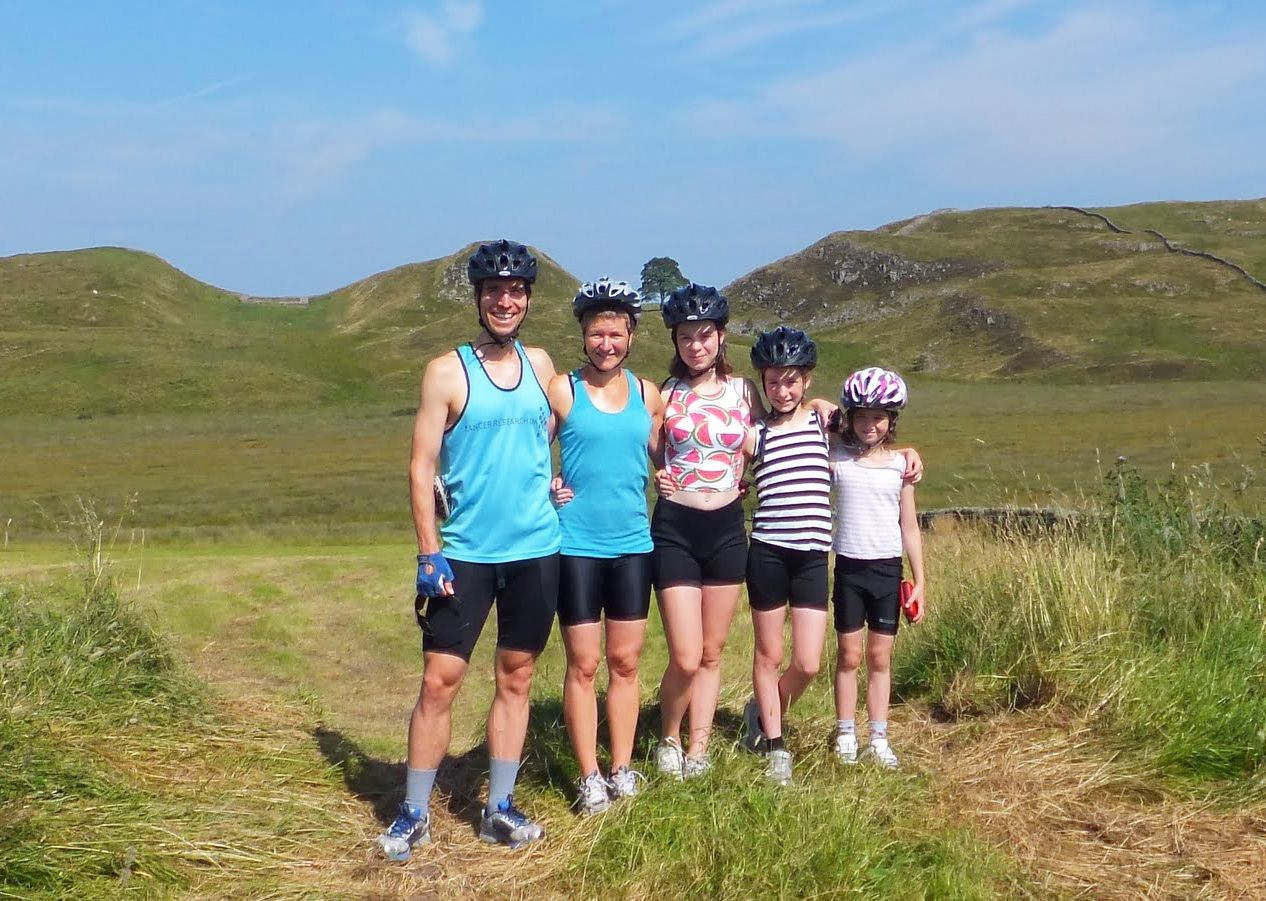 family-supported-guides-cycling-trip-uk.jpg - UK - Hadrian's Cycleway 4 Day - Supported Family Cycling Holiday - Family Cycling