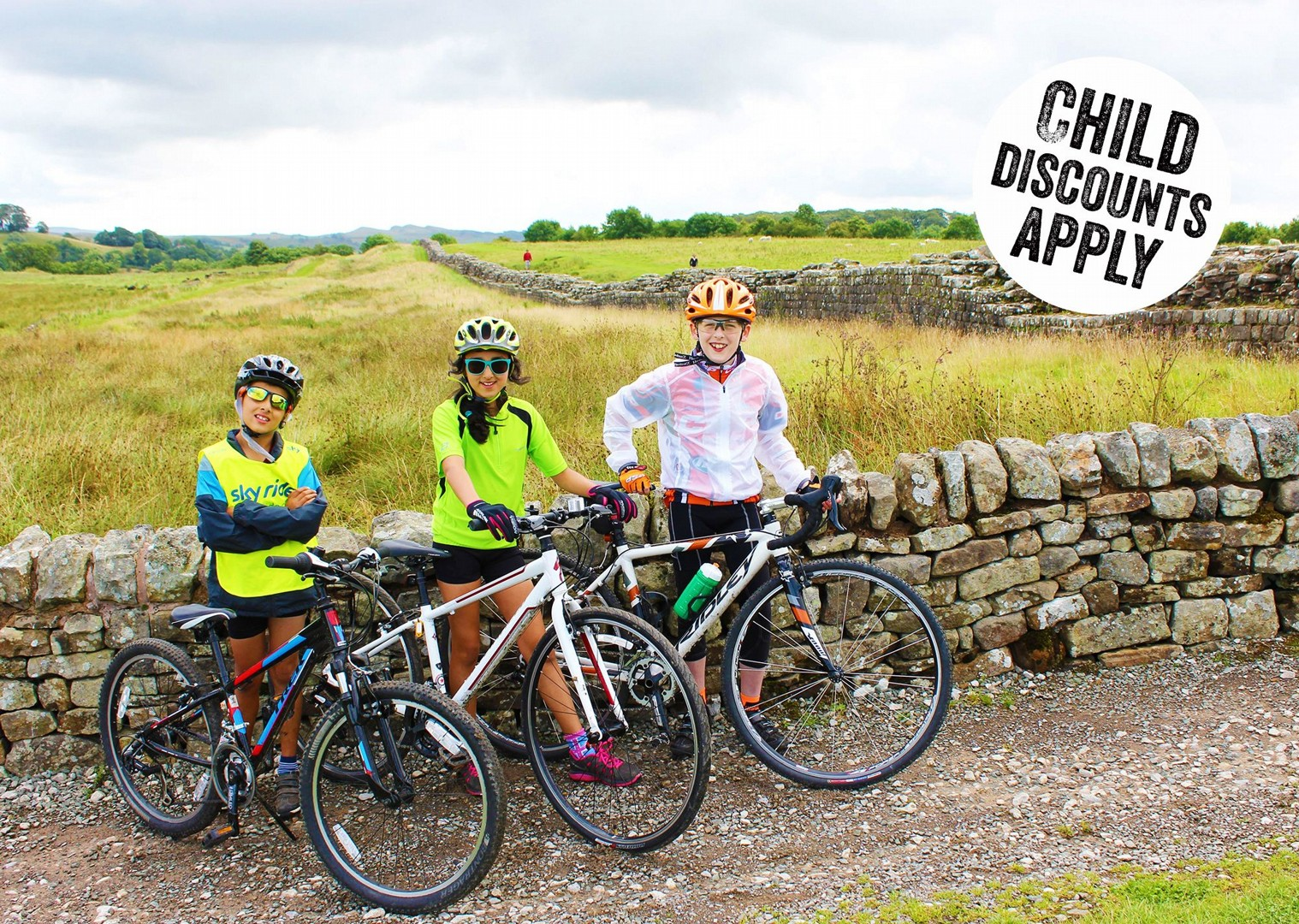 UK - Hadrian's Explorer - Self-Guided Family Cycling Holiday copy.jpg - UK - Hadrian's Cycleway 4 Day - Supported Family Cycling Holiday - Family Cycling