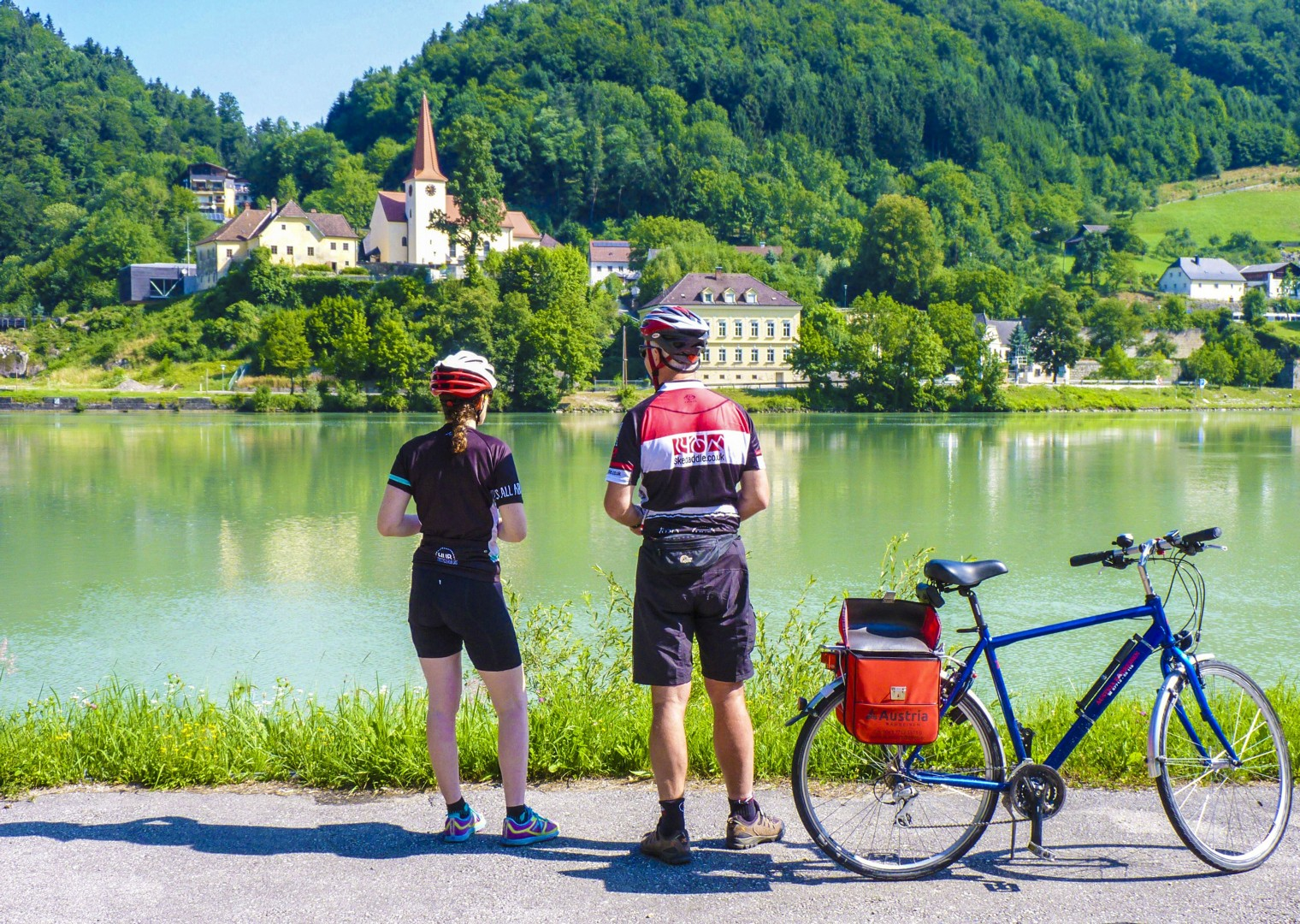 family-cycling-holiday-blue-danube-linz-to-vienna-austria.jpg - Austria - Blue Danube - Linz to Vienna - Family Cycling