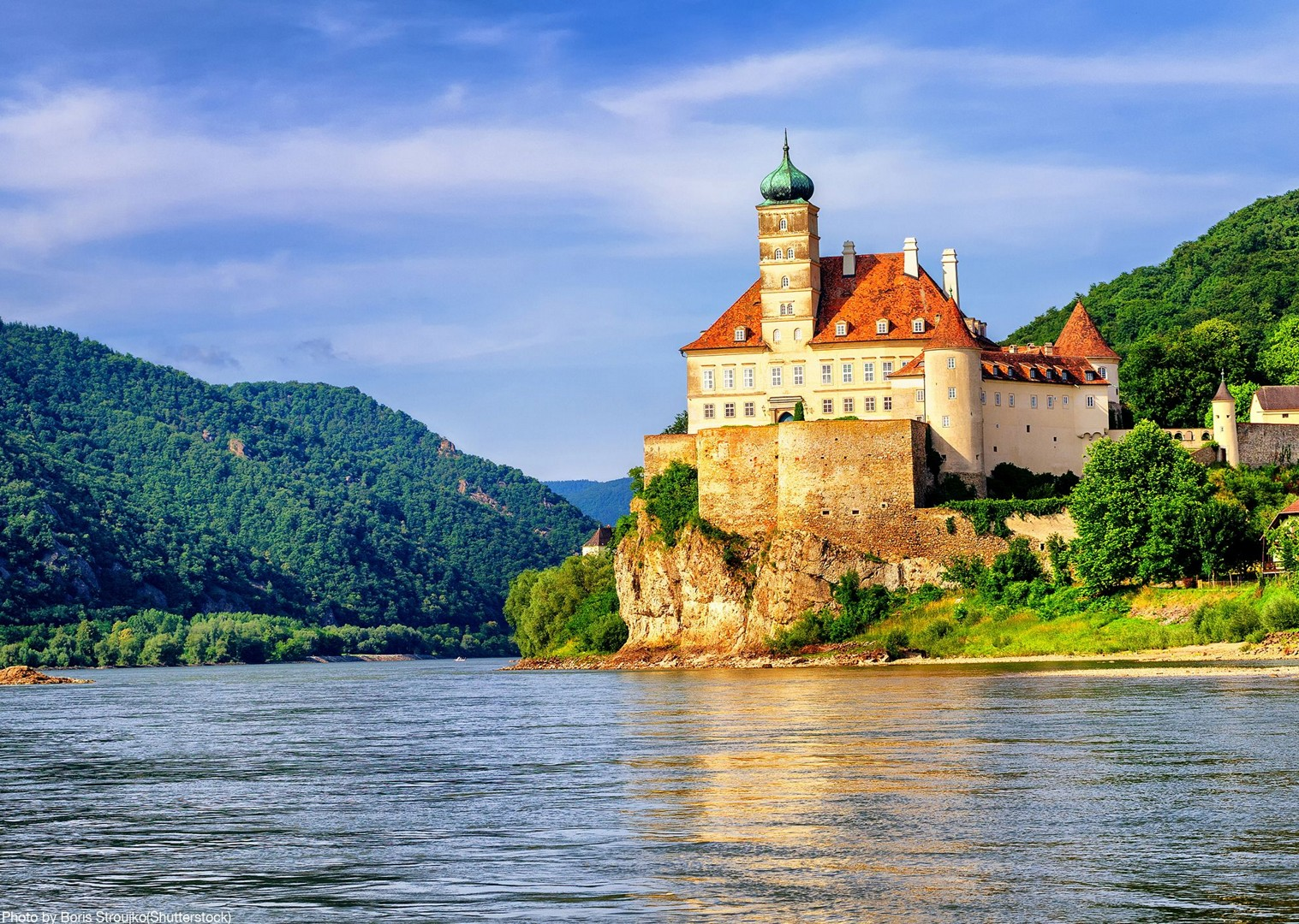 schonbuehel-castle-danube-cycle-path-austria-family-tour-saddle-skedaddle.jpg - Austria - Blue Danube - Linz to Vienna - Family Cycling