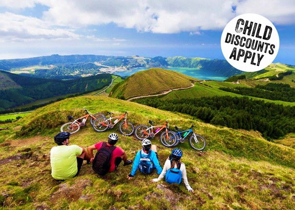 The Azores - Island Discoverer - Guided Family Cycling Holiday Image