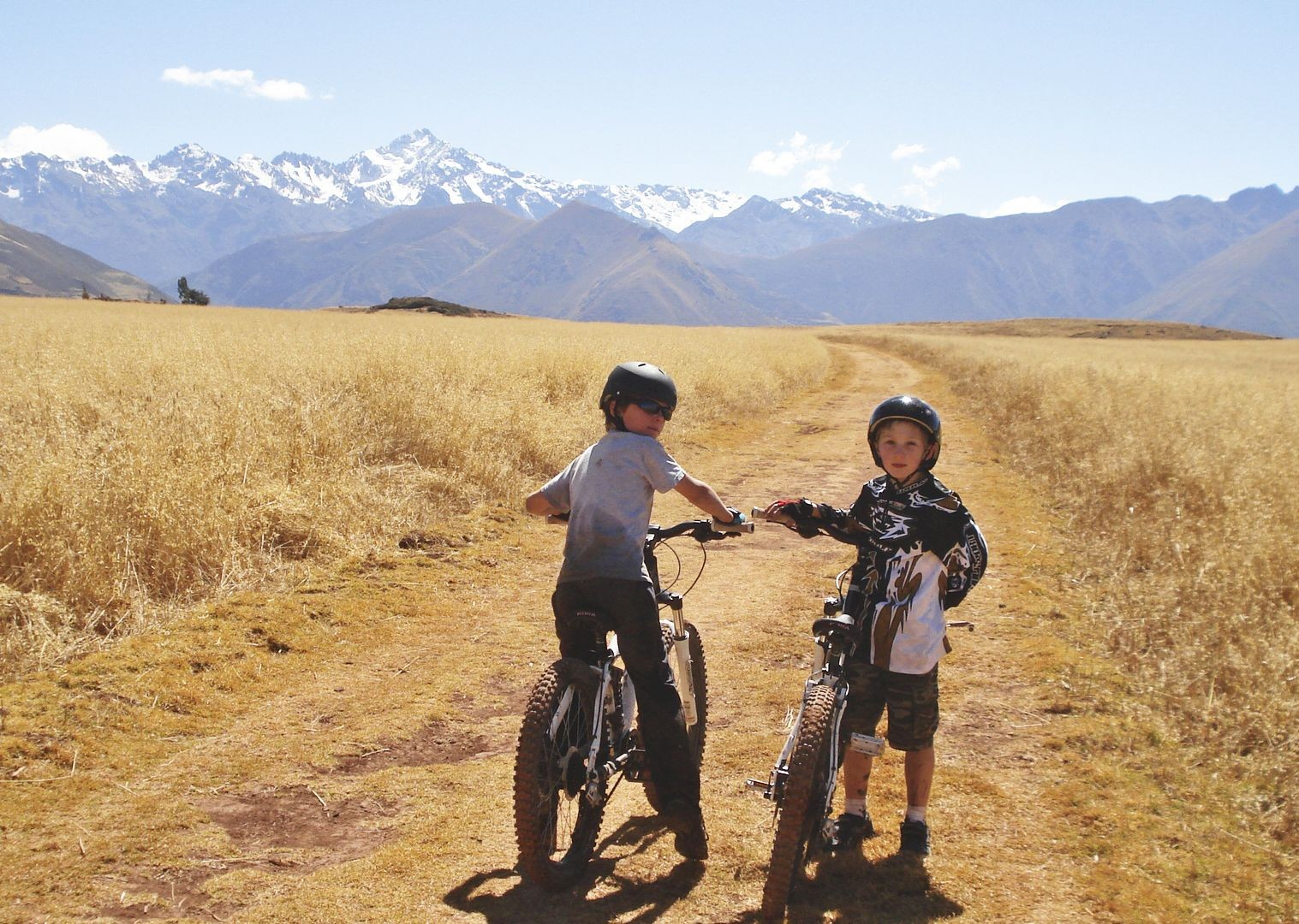 maras-salt-pans-andean-adventurer-peru-guided-family-cycling-holiday.JPG - Peru - Andean Adventure - Guided Family Cycling Holiday - Family Cycling