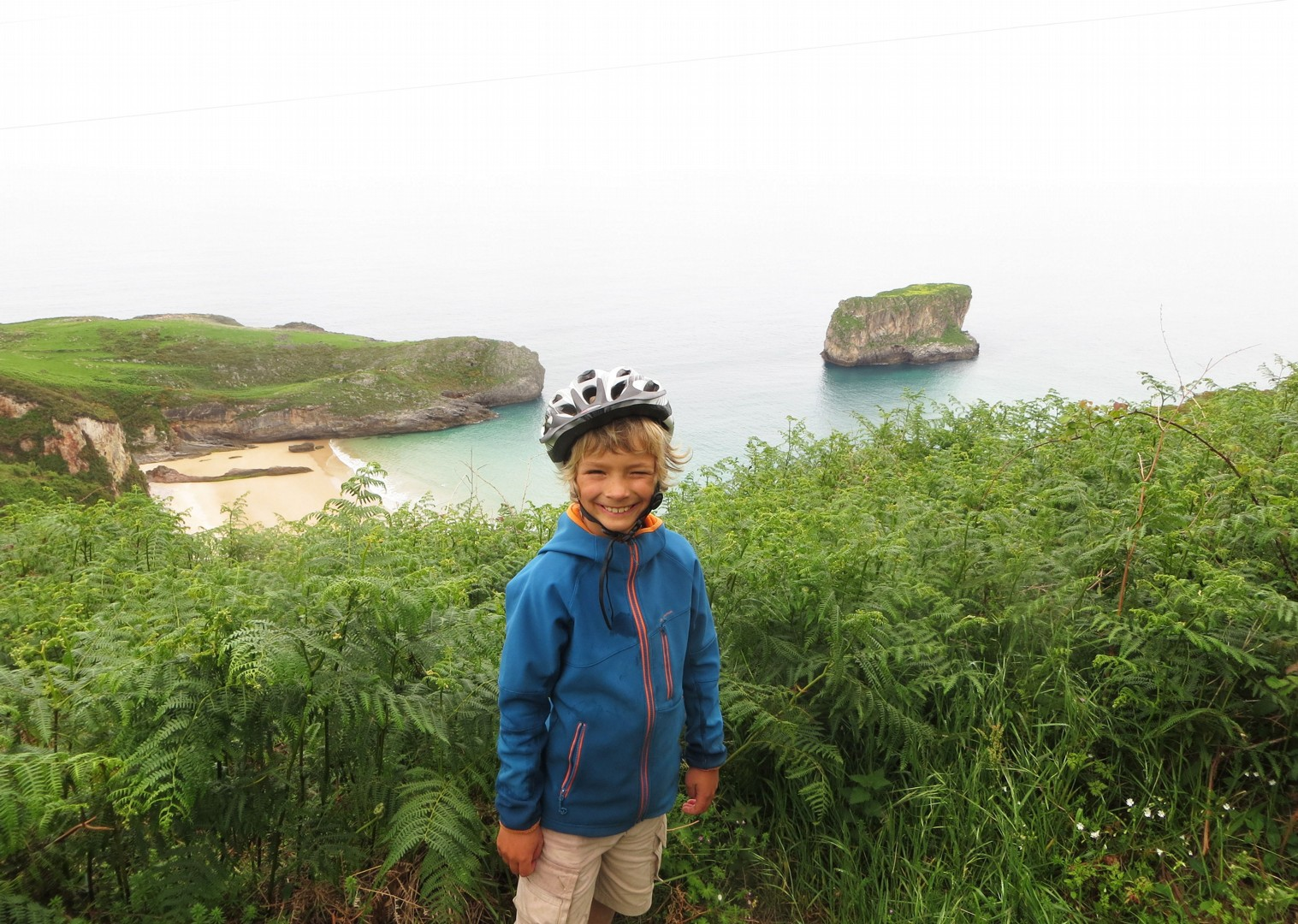 self-guided-family-cycling-holiday-in-spain-asturian-coastal.jpg - Northern Spain - Asturian Coastal Ride - Self-Guided Family Cycling Holiday - Family Cycling