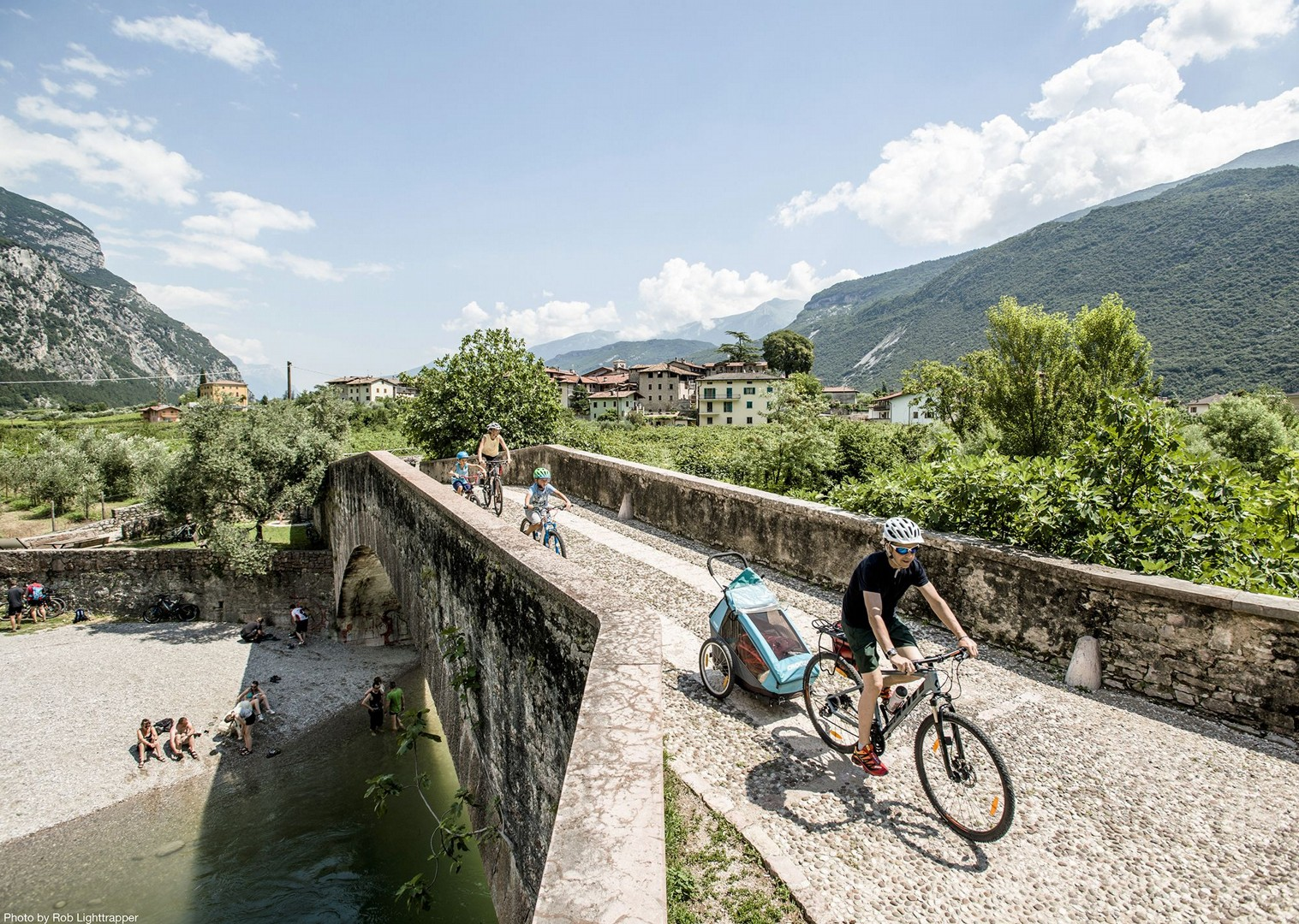 bridge-italy-lake-garda-self-guided-family-holiday.jpg - Italy - Lake Garda Explorer - Self-Guided Family Cycling Holiday - Family Cycling