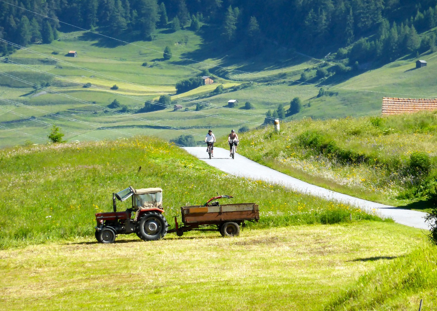 family-cycling-holiday-austria-austrian-lakes.JPG - Austria - Salzburg's Lake District - Self-Guided Family Cycling Holiday - Family Cycling
