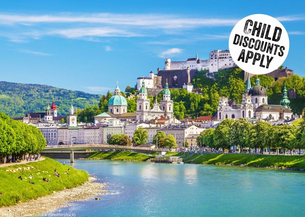 Austria - Salzburg's Lake District - Self-Guided Family Cycling Holiday Image