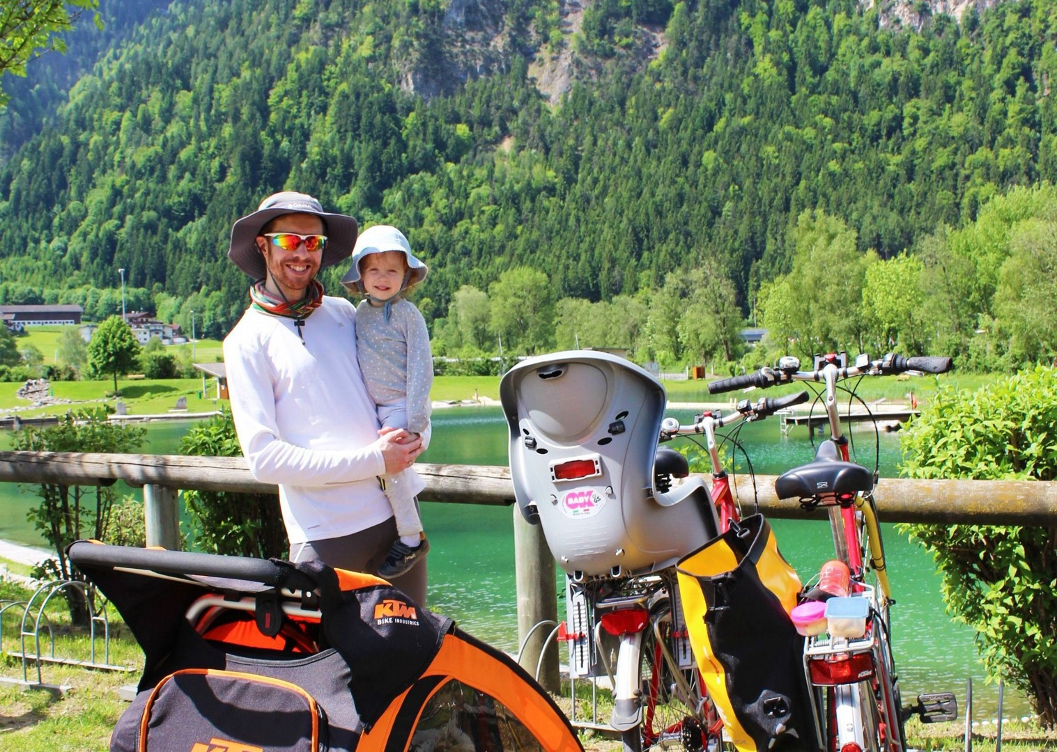 children-family-cycling-holiday-austria-skedaddle.jpg - Austria - Tauern Valleys - Self-Guided Family Cycling Holiday - Family Cycling