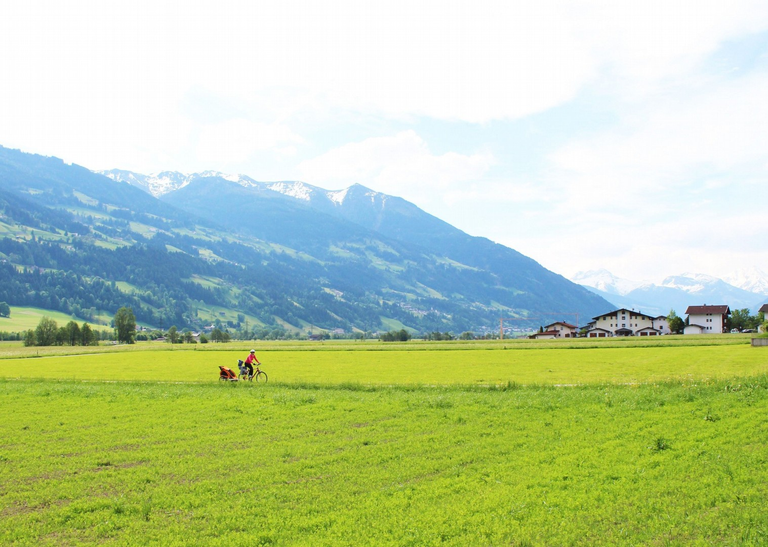 beautiful-scenery-austria-cycling-adventure.jpg - Austria - Tauern Valleys - Self-Guided Family Cycling Holiday - Family Cycling