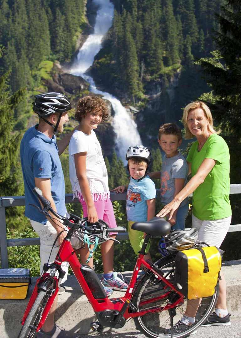 family-times-all-ages-biking-holiday-austria.jpg - Austria - Tauern Valleys - Self-Guided Family Cycling Holiday - Family Cycling
