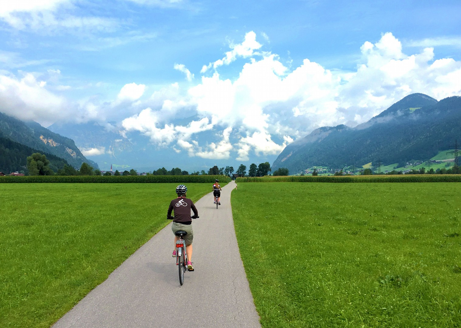 flat-cycling-family-holiday-austria.jpg - Austria - Tauern Valleys - Self-Guided Family Cycling Holiday - Family Cycling