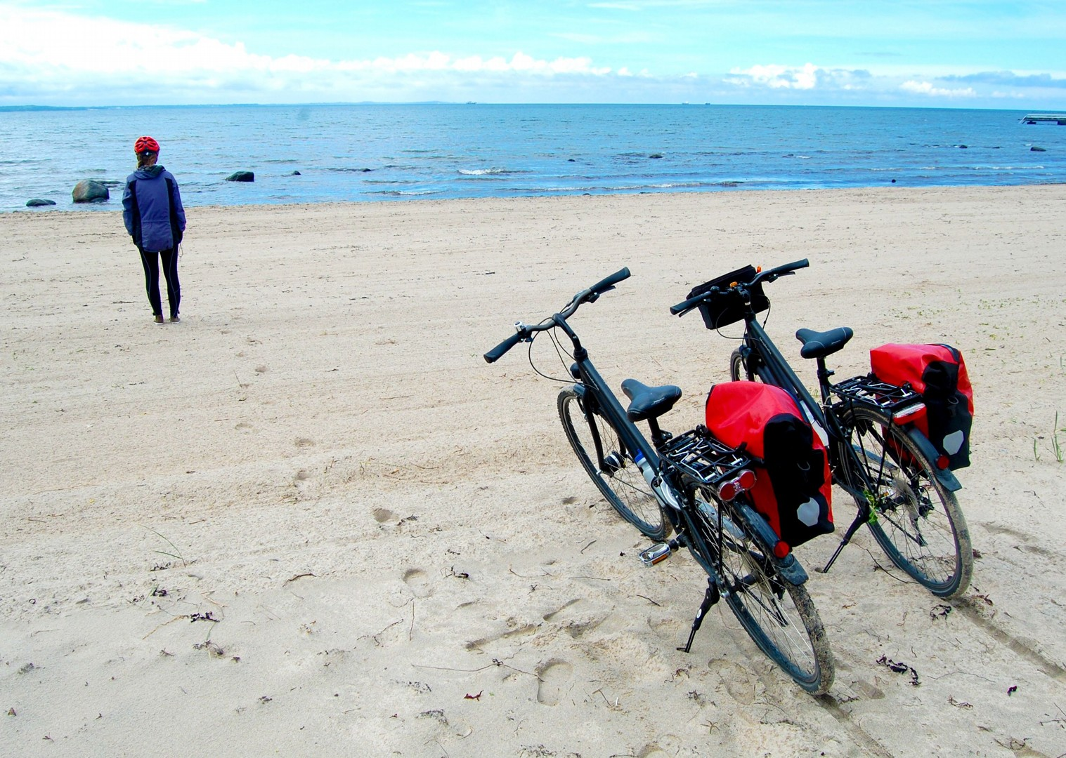 family-cycling-holiday-denmark-beach-experience.jpg - NEW! Denmark - Zooming Through Zealand - Family Cycling