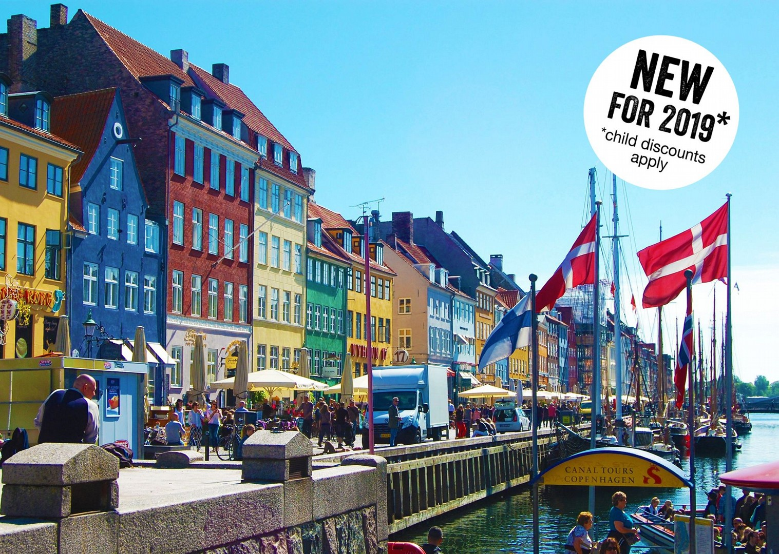 nyhavn-harbour-copenhagen-denmark-cycling-holidays.jpg - NEW! Denmark - Zooming Through Zealand - Family Cycling